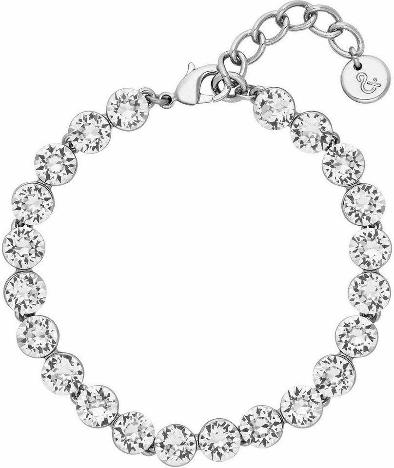 Lolaandgrace Armband »PALACE BRACELET, 5251845« mit Swarovski® Kristallen in silberfarben-weiß