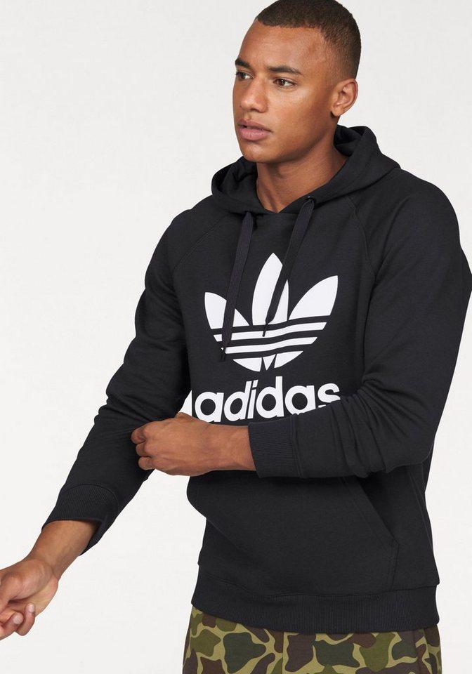 adidas Originals Kapuzensweatshirt in schwarz