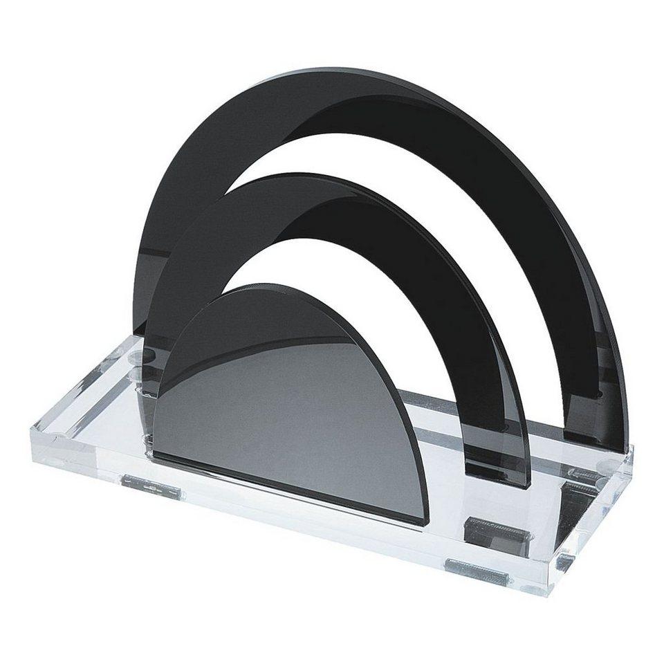 Wedo Briefständer »acryl exklusiv« in schwarz