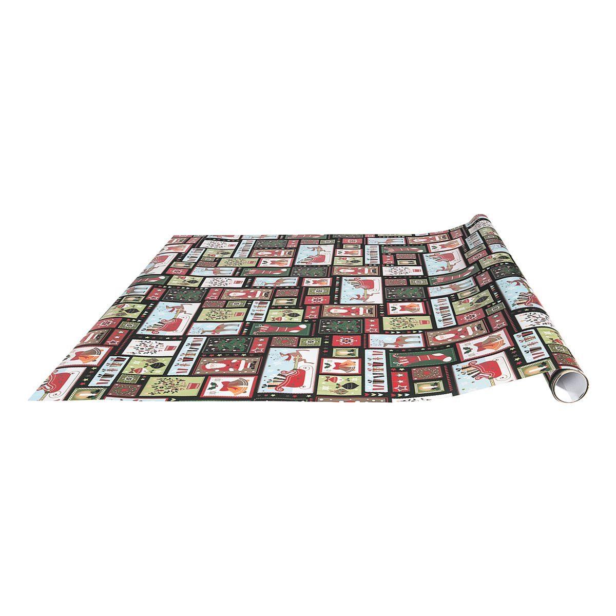 Geschenkpapier »Santaclaus«
