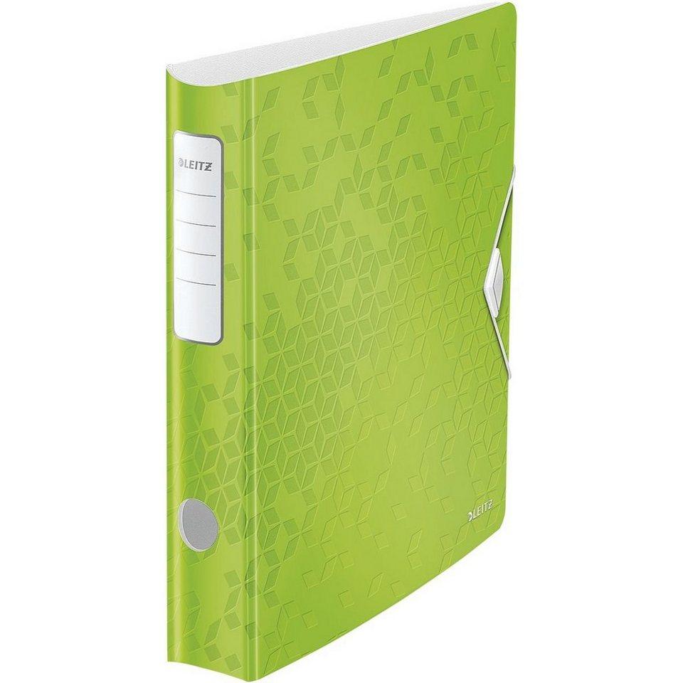 Leitz Ordner »180° Active WOW« in grün metallic