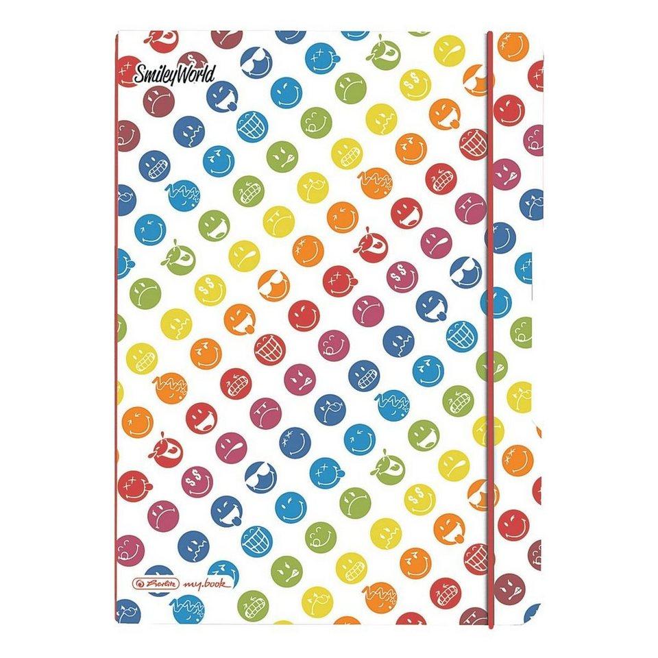 Herlitz Notizheft my.book flex »SmileyWorld Rainbow«
