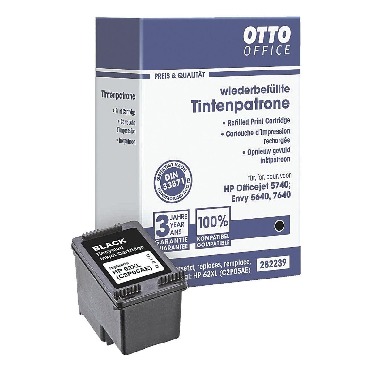 OTTO Office Tintenpatrone ersetzt HP »C2P05A« 62XL
