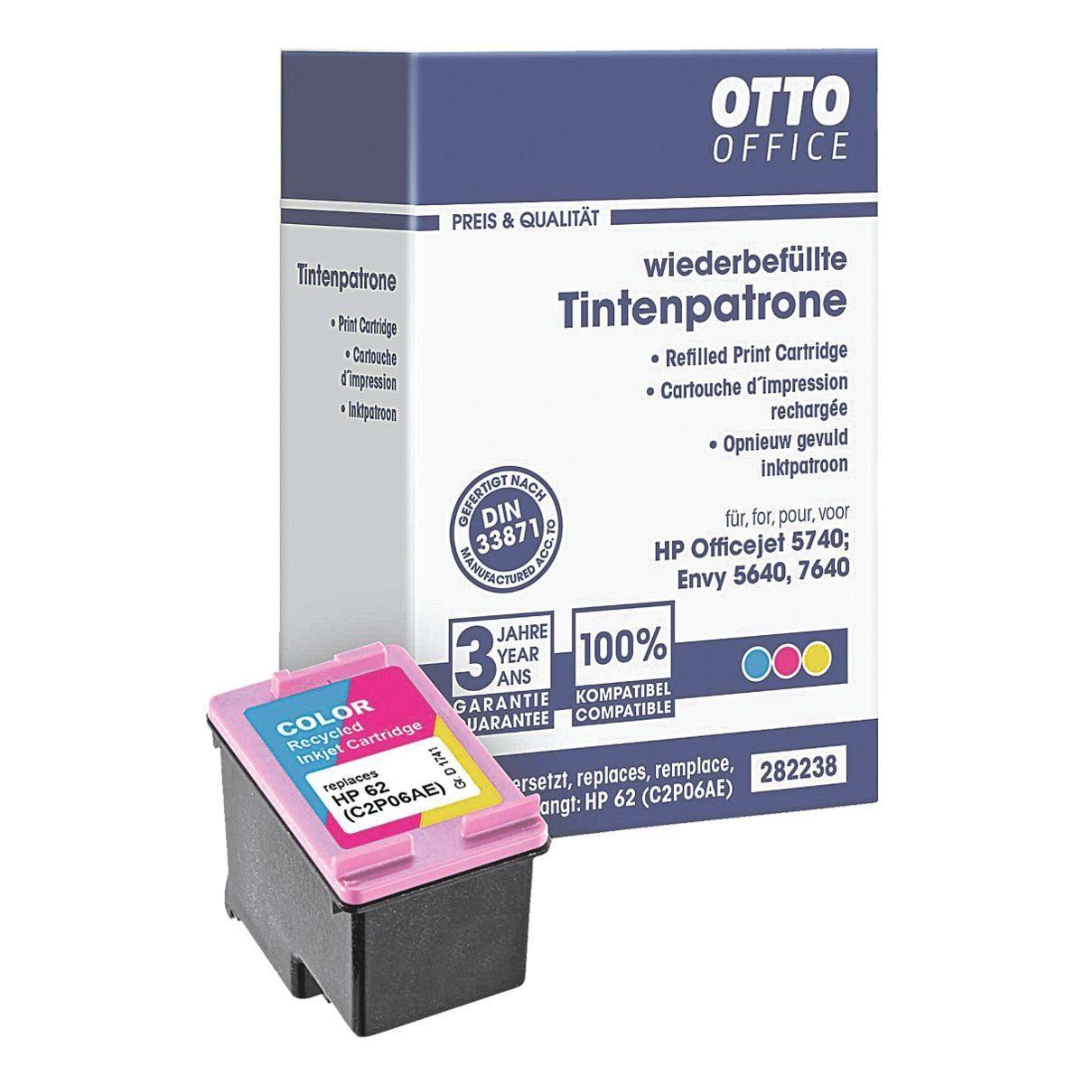 OTTO Office Standard Tintenpatrone ersetzt HP »C2P06A« 62