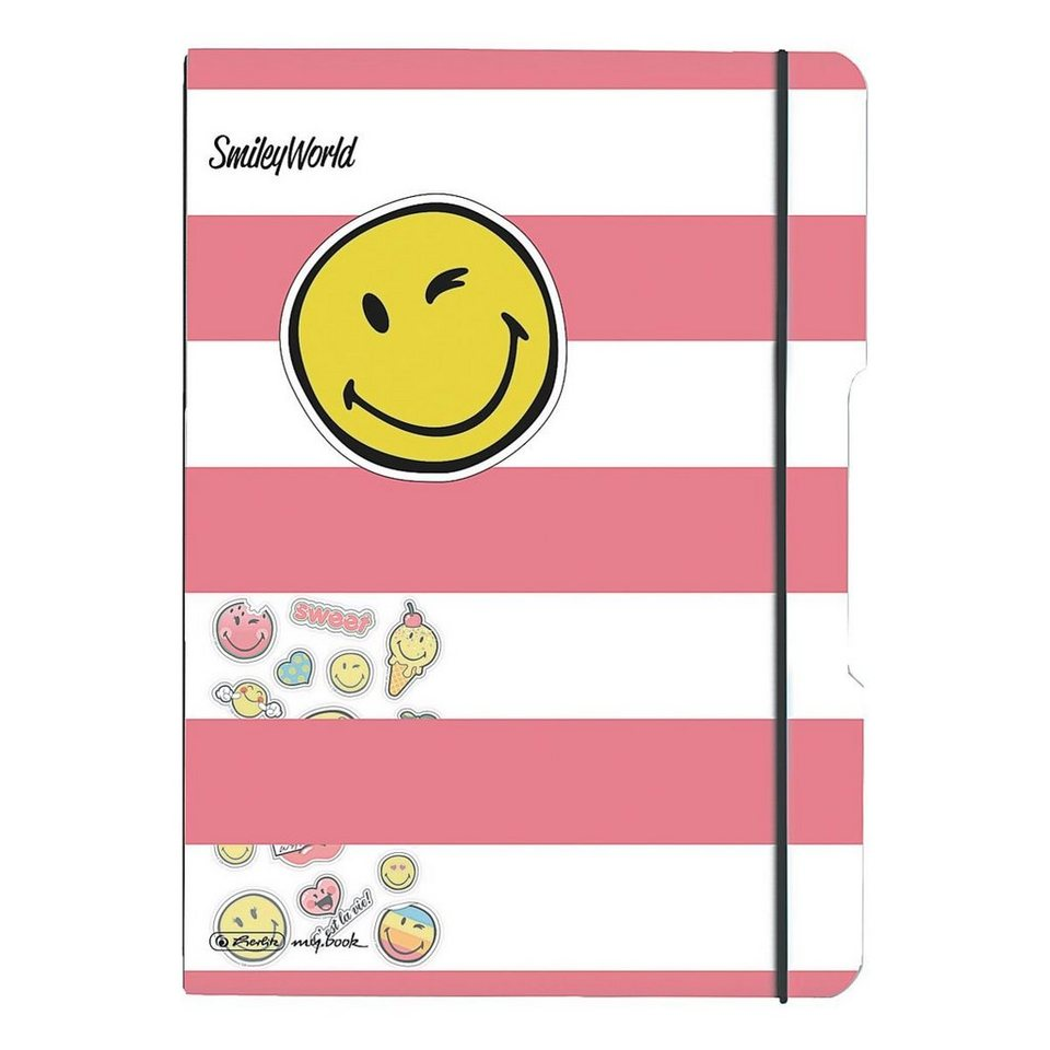 Herlitz Notizheft my.book flex »SmileyWorld Girly«