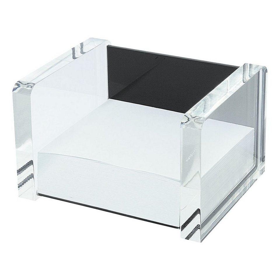 Wedo Zettelbox »acryl exklusiv« in schwarz