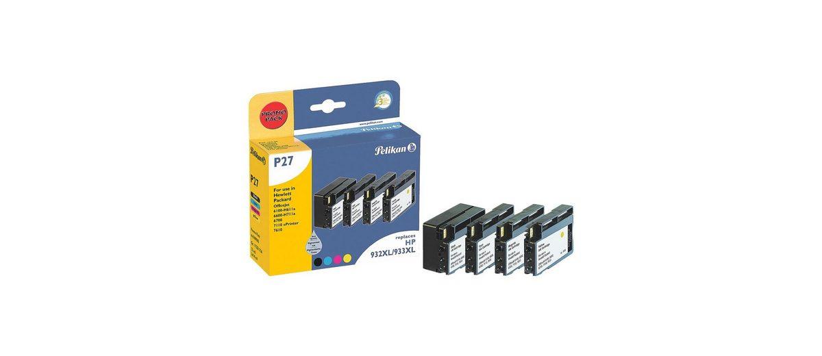 Pelikan Tintenpatronen-Set ersetzt HP »932 XL BK & 933XL C/...