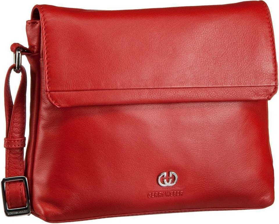 GERRY WEBER Piacenza Flap Bag M in Red