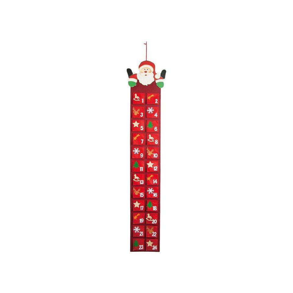 Hotex Adventskalender Santa, 30 x 150 cm