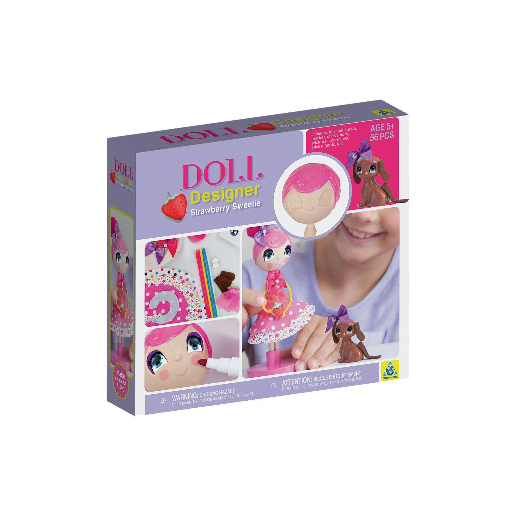 Doll Designer Strawberry Sweety