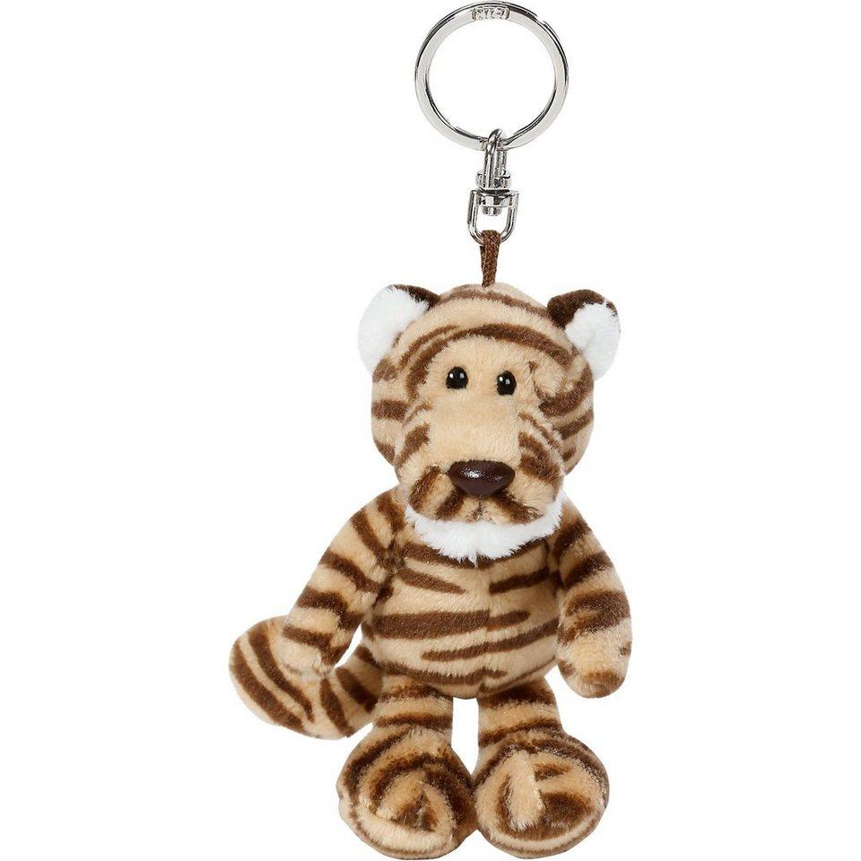 NICI Tiger Kofu Schlüsselanhänger, 10cm (40208)