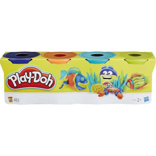 Hasbro Play-Doh Knet-Dosen 4er Pack