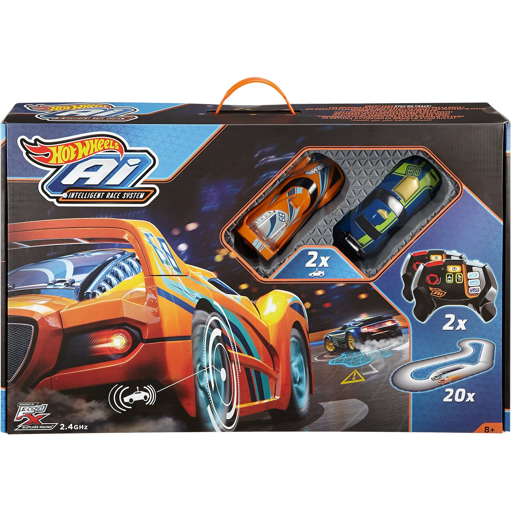 Mattel® Hot Wheels A.I. - Intelligent Race System