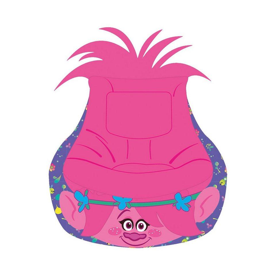 WORLDS APART Aufblasbarer Sessel, Trolls in pink