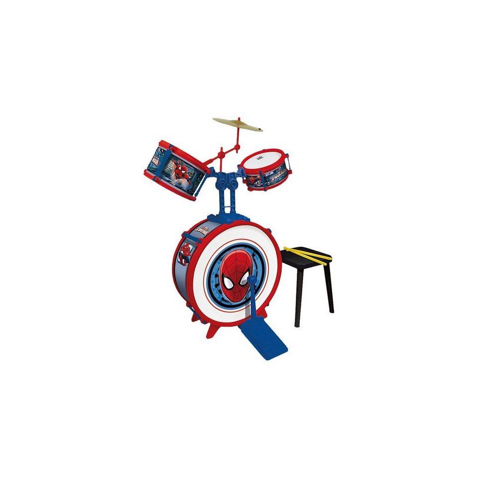Schlagzeugset Spiderman