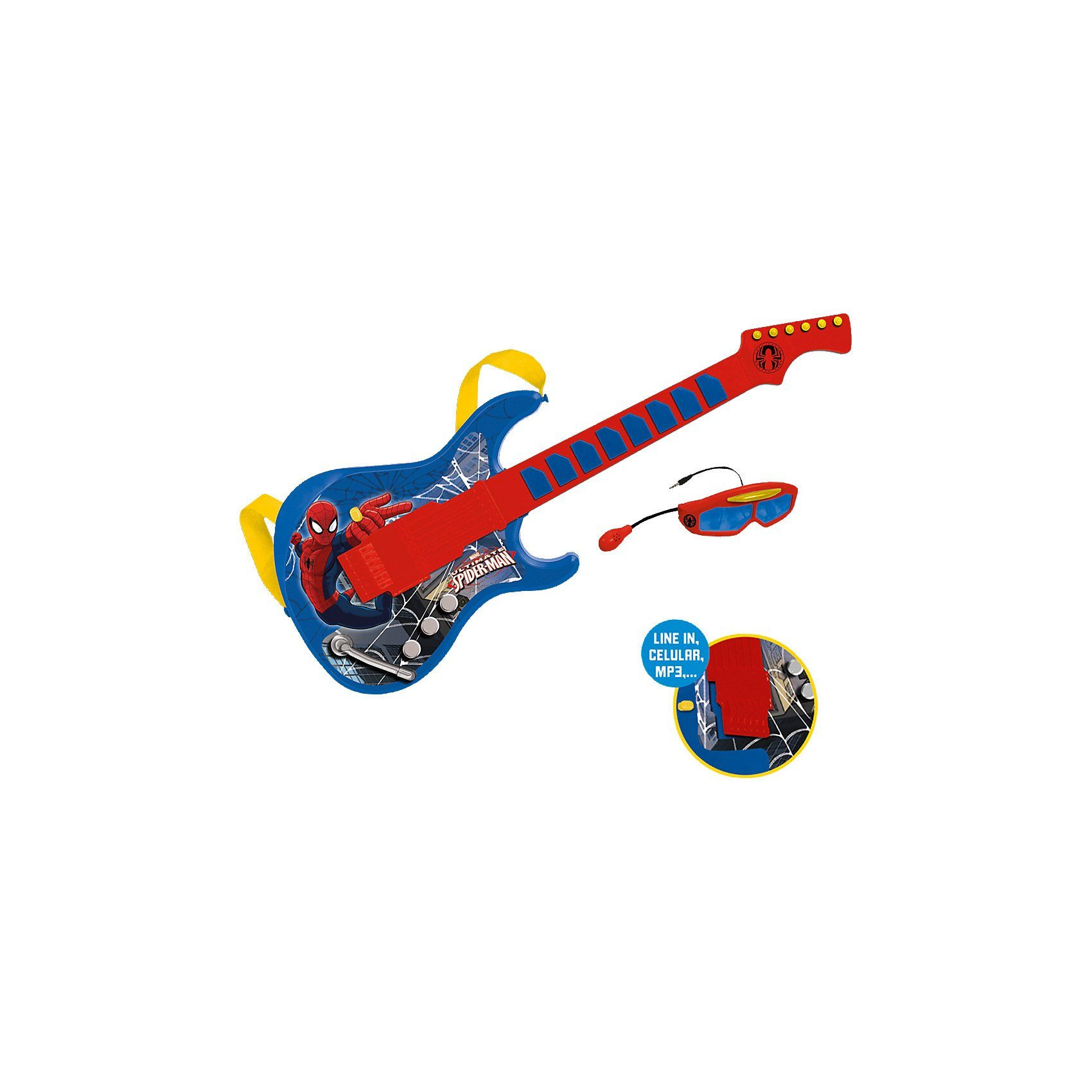 Gitarrenset Spiderman