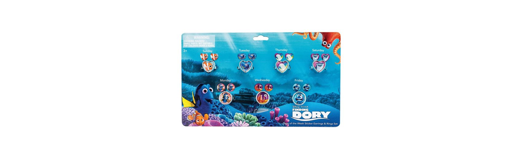 JOY TOY Sticker- Ohrringset Findet Dory