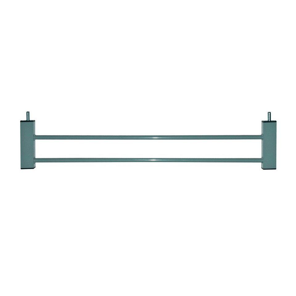 FIRST BABY SAFETY Verlängerung zu Klemmgitter SMART 14 cm in grau