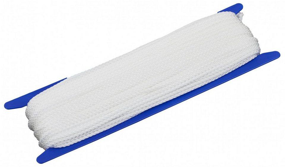 CAMPZ Zeltzubehör »Allzweckleine 50m 4mm« in weiß