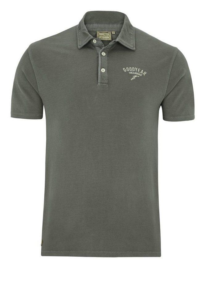 Goodyear Poloshirt MACON »MACON« in Stoner