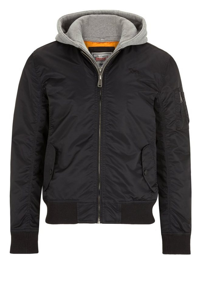 Lonsdale Jacke »CLIFTON ALL SEASONS« in Black