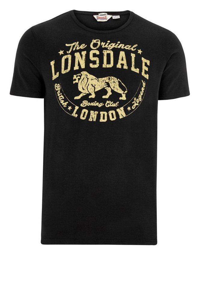 Lonsdale T-Shirt »COALEY« in Black