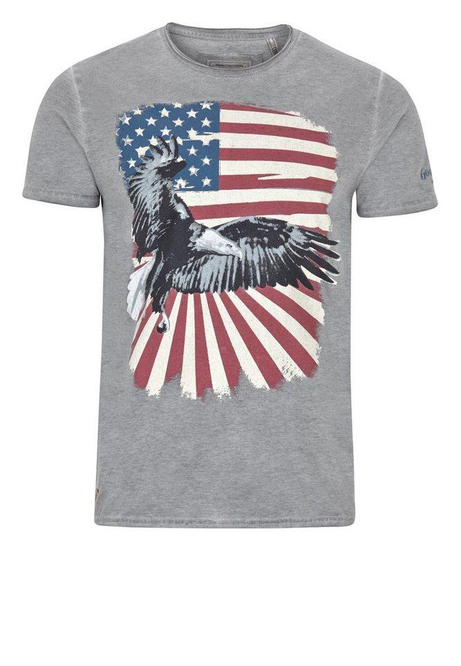 Goodyear T-Shirt »ALLENTOWN« in Marl Ash