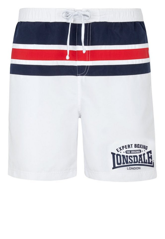 Lonsdale Shorts »LONGHILL« in White
