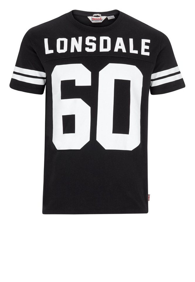 Lonsdale T-Shirt »FAMINGDON« in Black