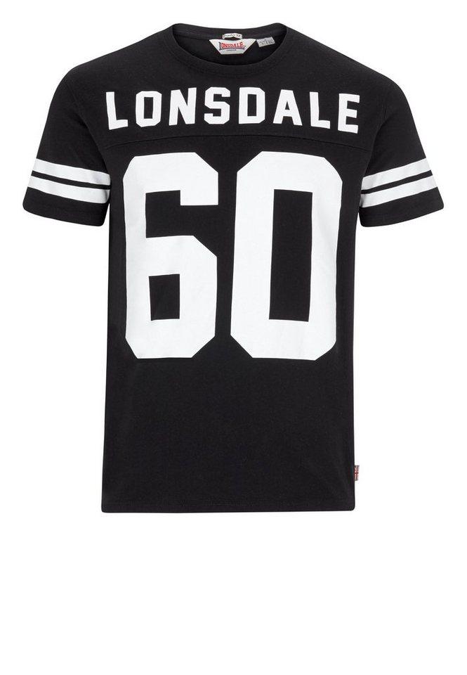 Lonsdale T-Shirt FAMINGDON »FAMINGDON« in Black