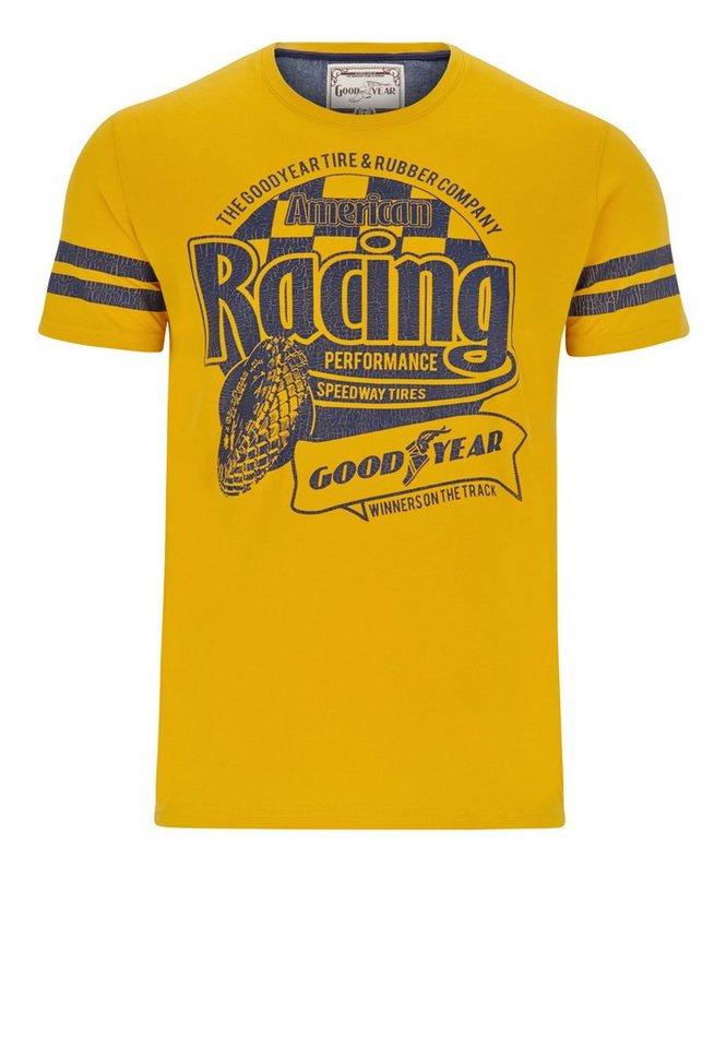 Goodyear T-Shirt PALMER »PALMER« in Warm Yellow