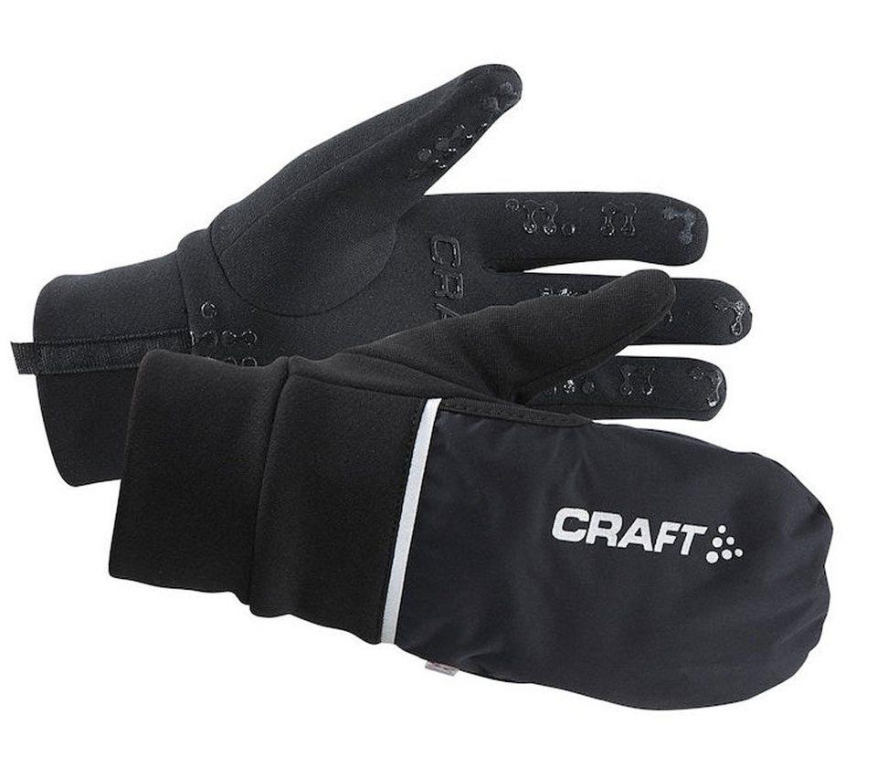 Craft Fahrrad Handschuhe »Hybrid Weather Gloves« in schwarz