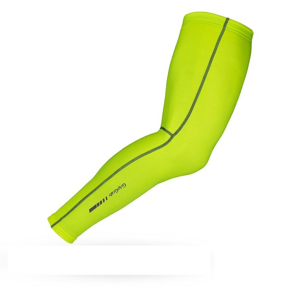 GripGrab Armling »Leg Warmers Hi-Vis« in gelb