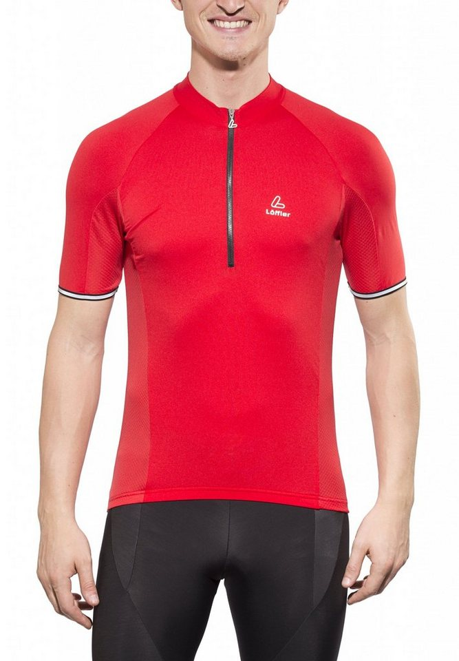 Löffler Radtrikot »Performance HZ Bike Trikot Herren« in rot