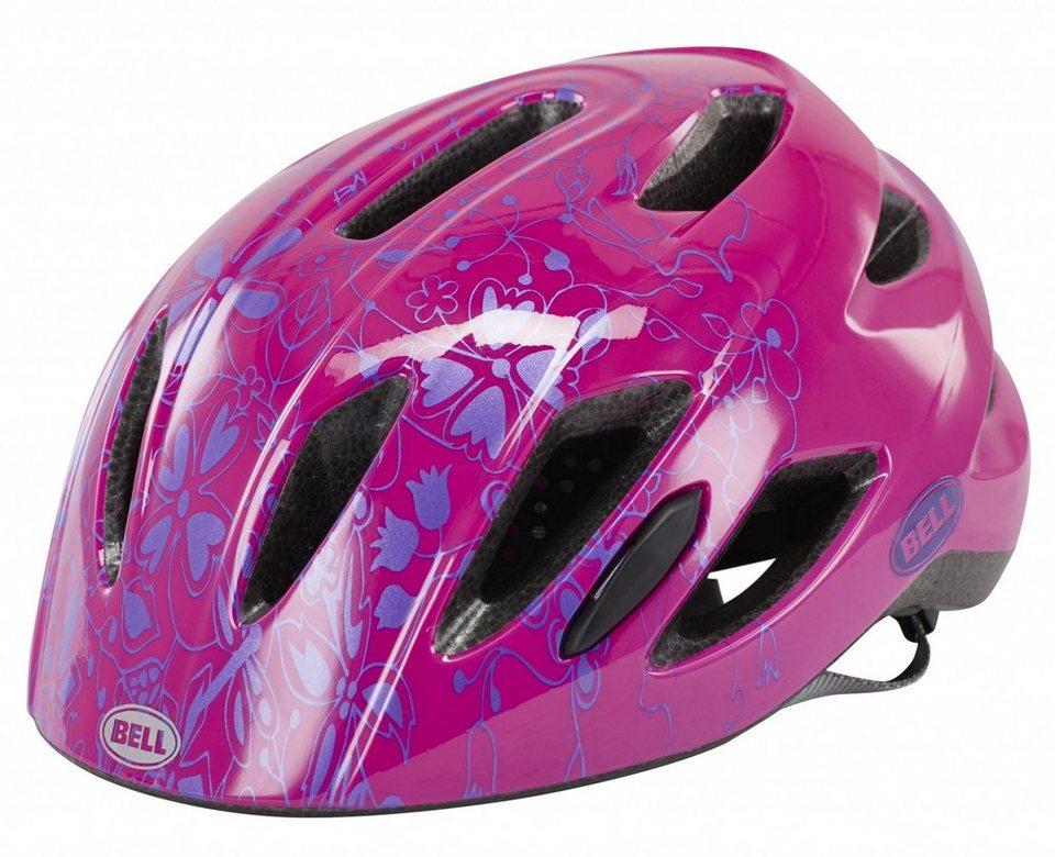 Bell Fahrradhelm »Zipper Kinderhelm Uni Size« in pink