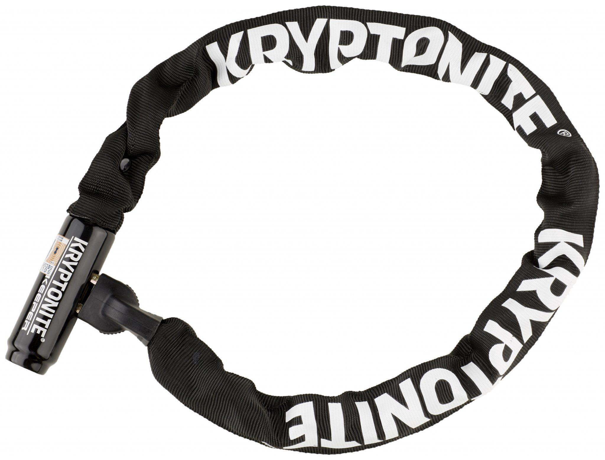 Kryptonite Fahrradschloss »Keeper 785 Integrated Chain schwarz«