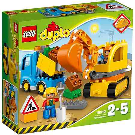 LEGO® Bagger und Lastwagen (10812), »LEGO® Duplo«