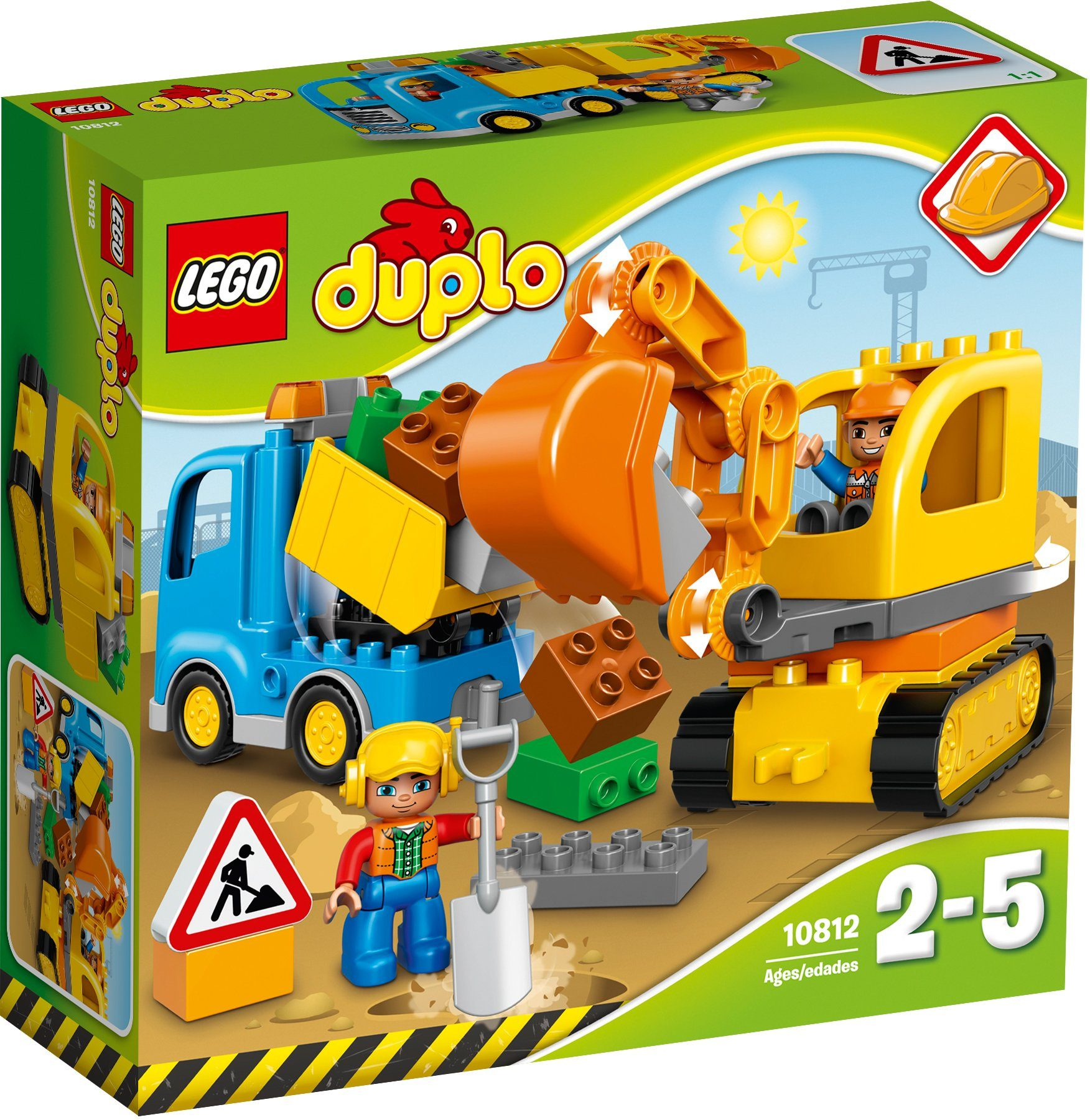 LEGO®, Bagger und Lastwagen (10812), »LEGO® DUPLO®«
