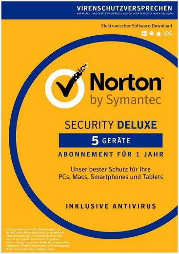 Norton Security Deluxe 3.0 »1 Benutzer, 5 Geräte«
