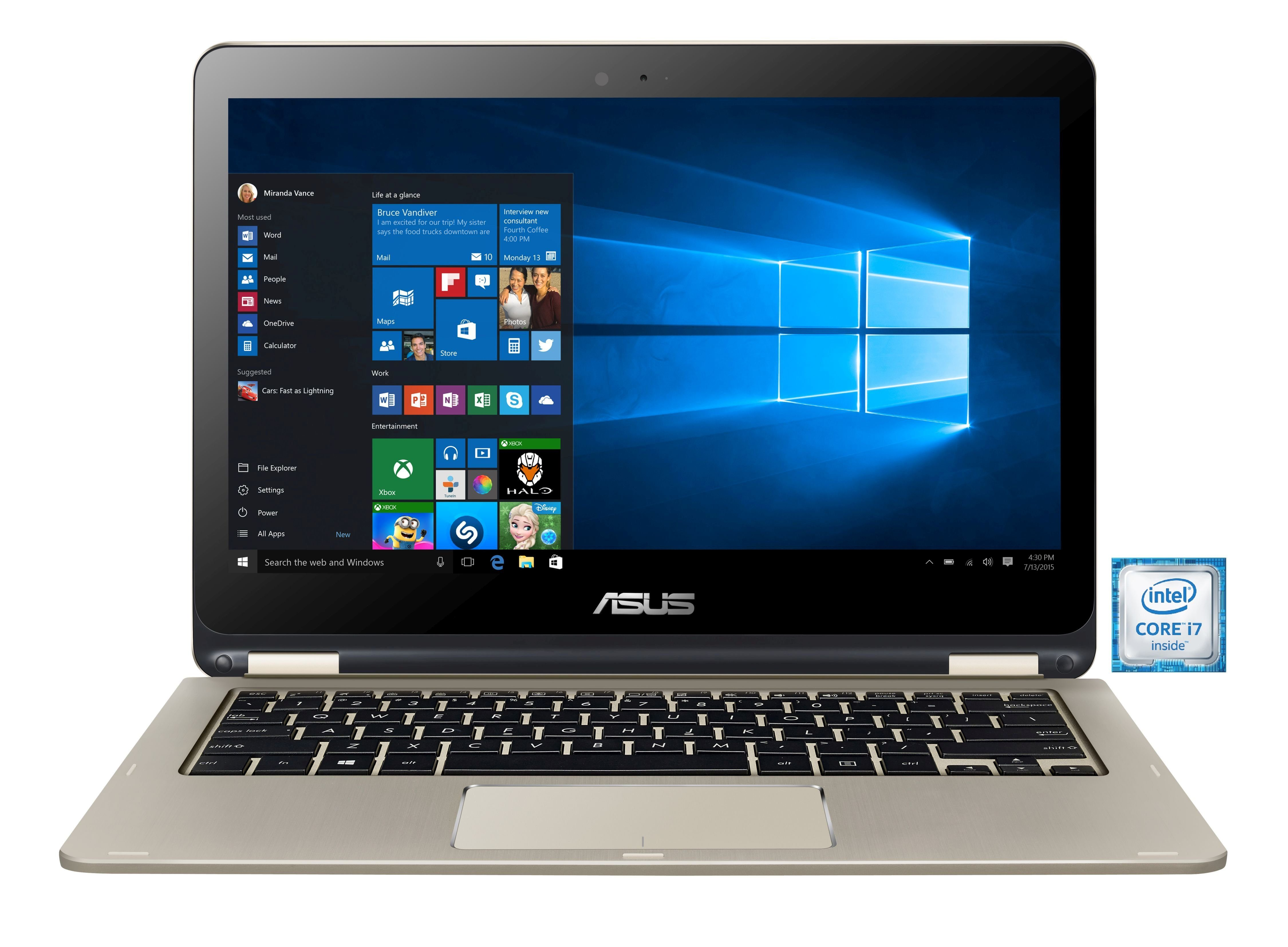 "ASUS TP301UA-DW234T Notebook »Intel Core i7, 33,7cm (13,3""), 512 GB SSD, 8 GB«"