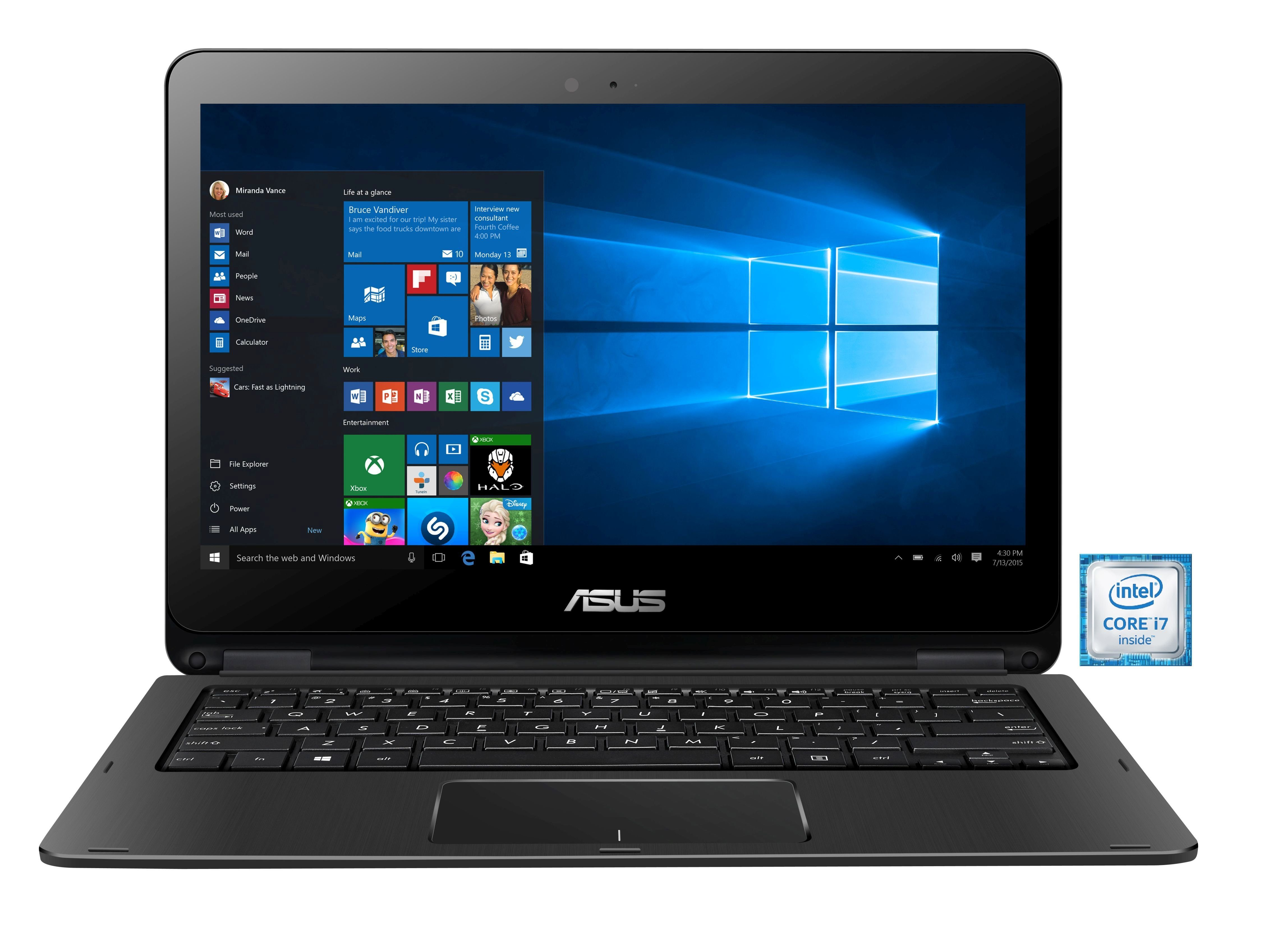 "ASUS TP301UJ-C4094T Notebook »Intel Core i7, 33,7cm (13,3""), 256 GB SSD, 8 GB«"