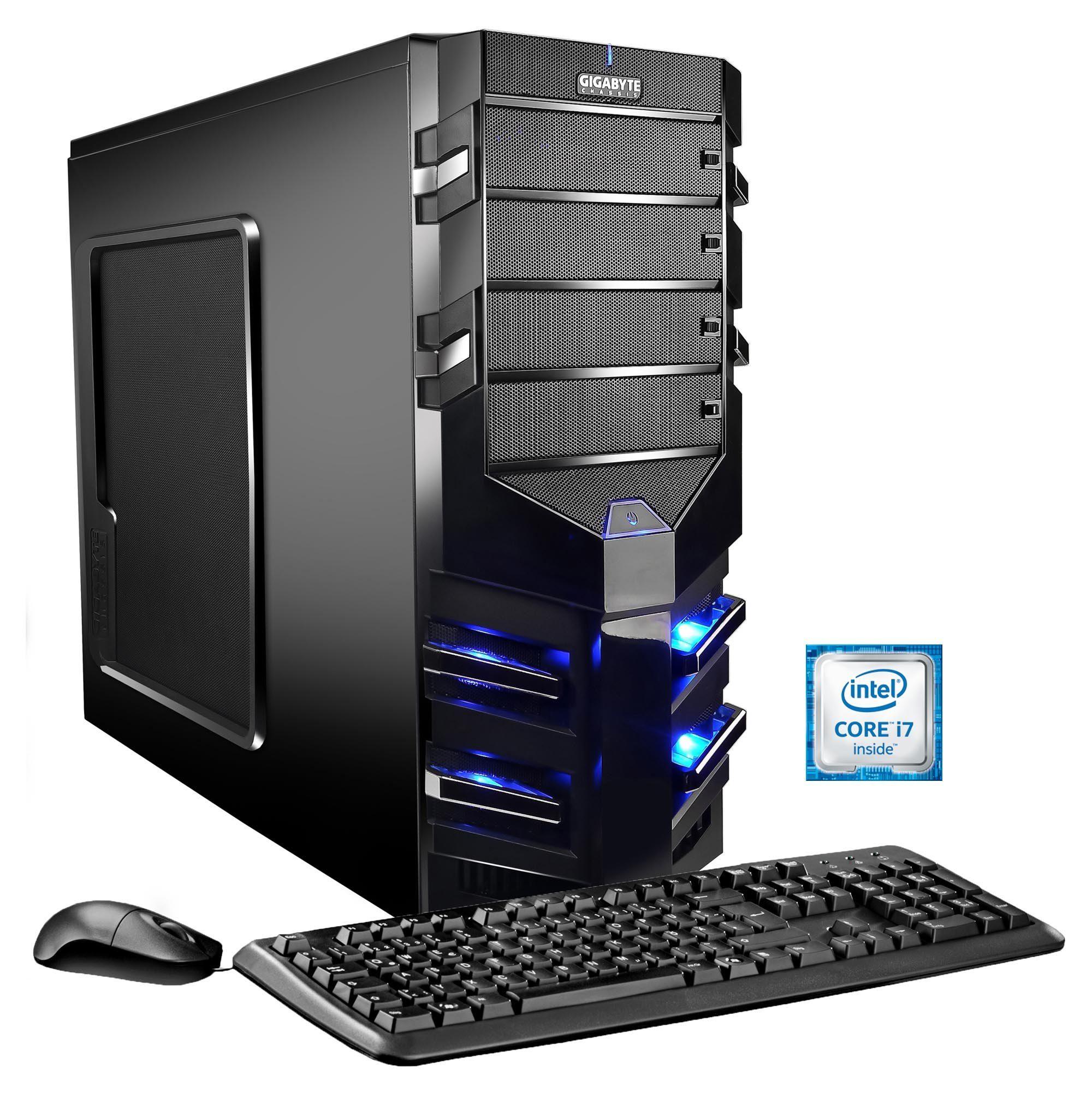 Hyrican Gaming PC Intel® i7-6700, 16GB, HDD + SSD, GeForce® GTX 1070 »Alpha Gaming 5295«