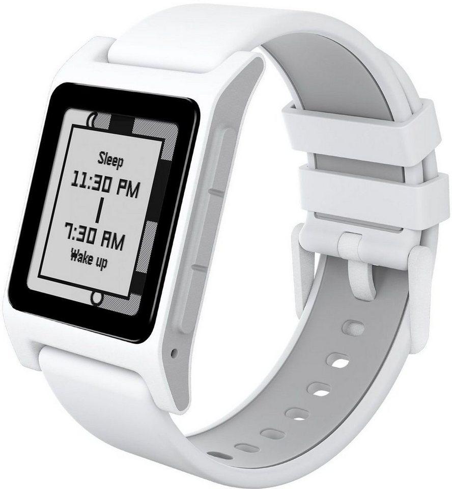 Pebble Smart Watch »2 HR Smart Watch« in Weiß-Grau