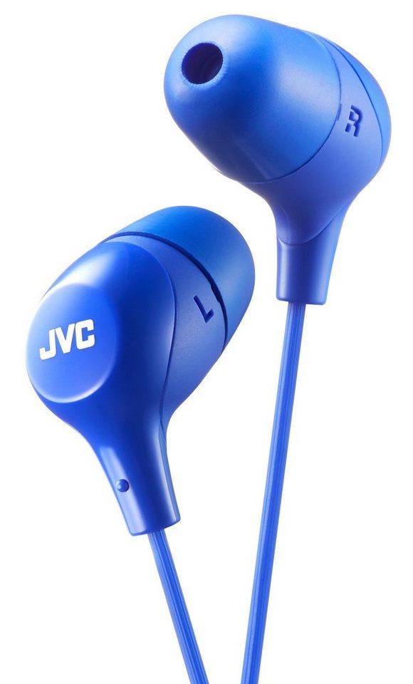 "JVC InEar Kopfhörer ""Mashmallow"" »HA-FX38« in blau"