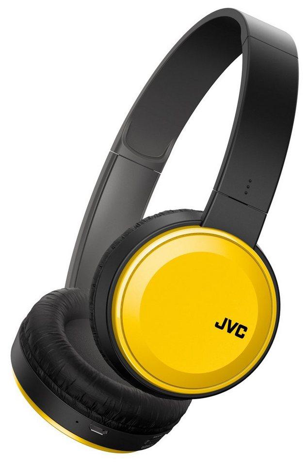 JVC OnEar Bluetooth-Kopfhörer »HA-S30BT« in gelb