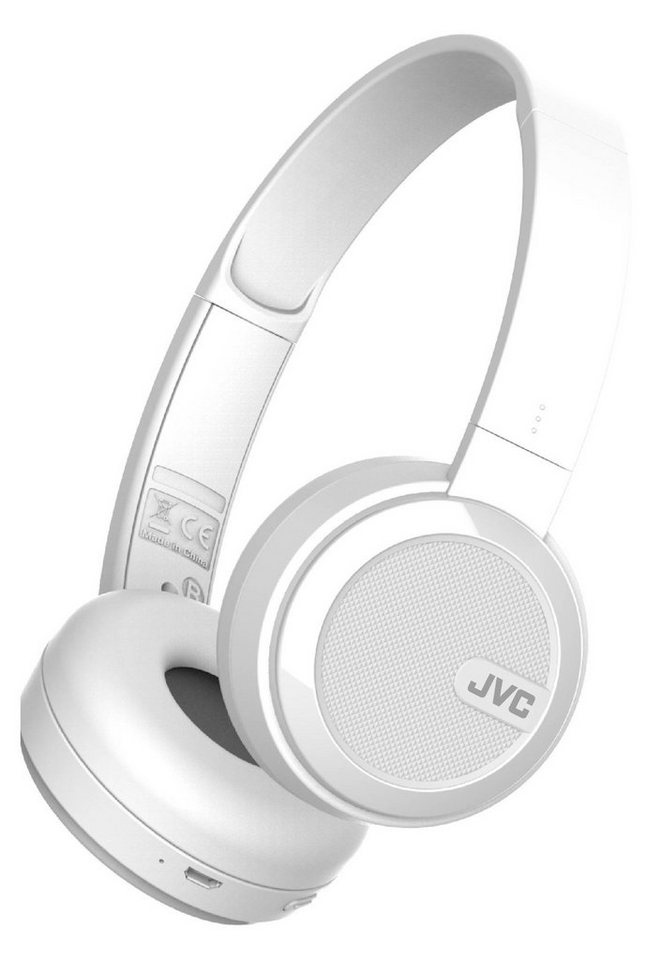 JVC OnEar Bluetooth-Kopfhörer »HA-S40BT« in weiss