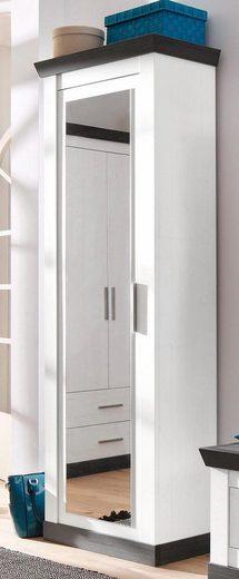 Home affaire Garderobenschrank »Siena« mit Spiegel