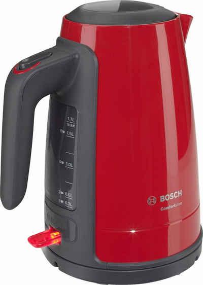 BOSCH Wasserkocher ComfortLine TWK6A014, 1,7 l, 2400 W