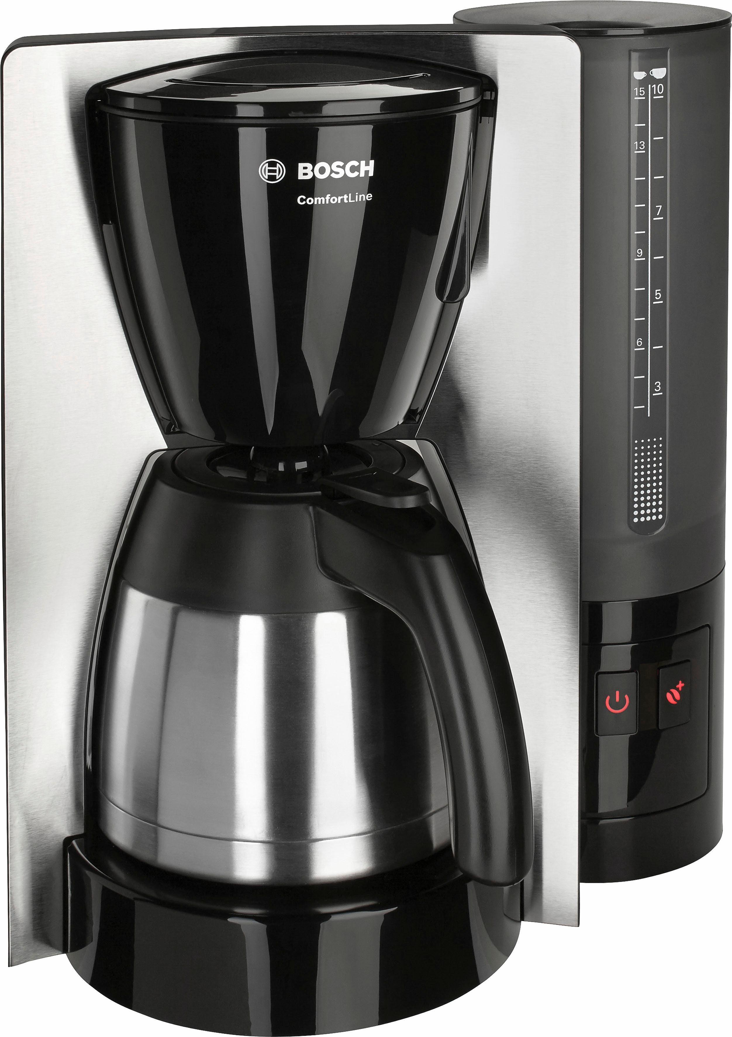 Bosch Thermo-Filterkaffeemaschine ComfortLine TKA6A683, 1,15 Liter