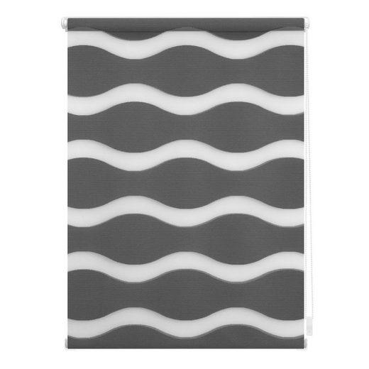 Doppelrollo »Duo Rollo Klemmfix Welle«, LICHTBLICK ORIGINAL, Lichtschutz, ohne Bohren, im Fixmaß